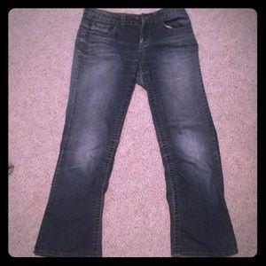Mudd Dark Blue Flare Leg Jeans